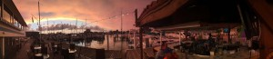 Clearwater Dock Sunset