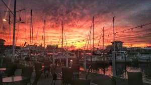 Clearwater Yacht Club Sunset