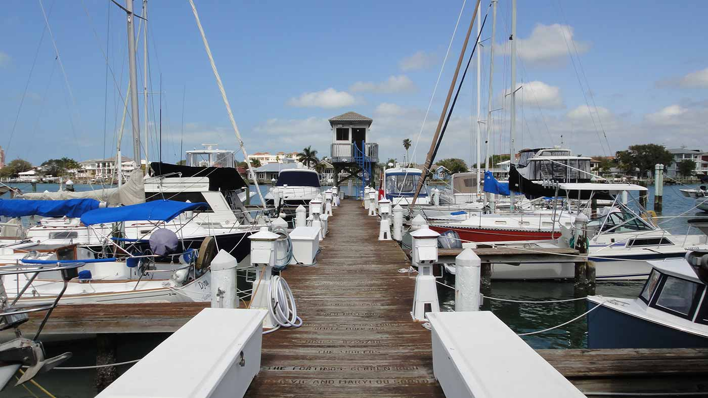 Clearwater Yacht Club Docks