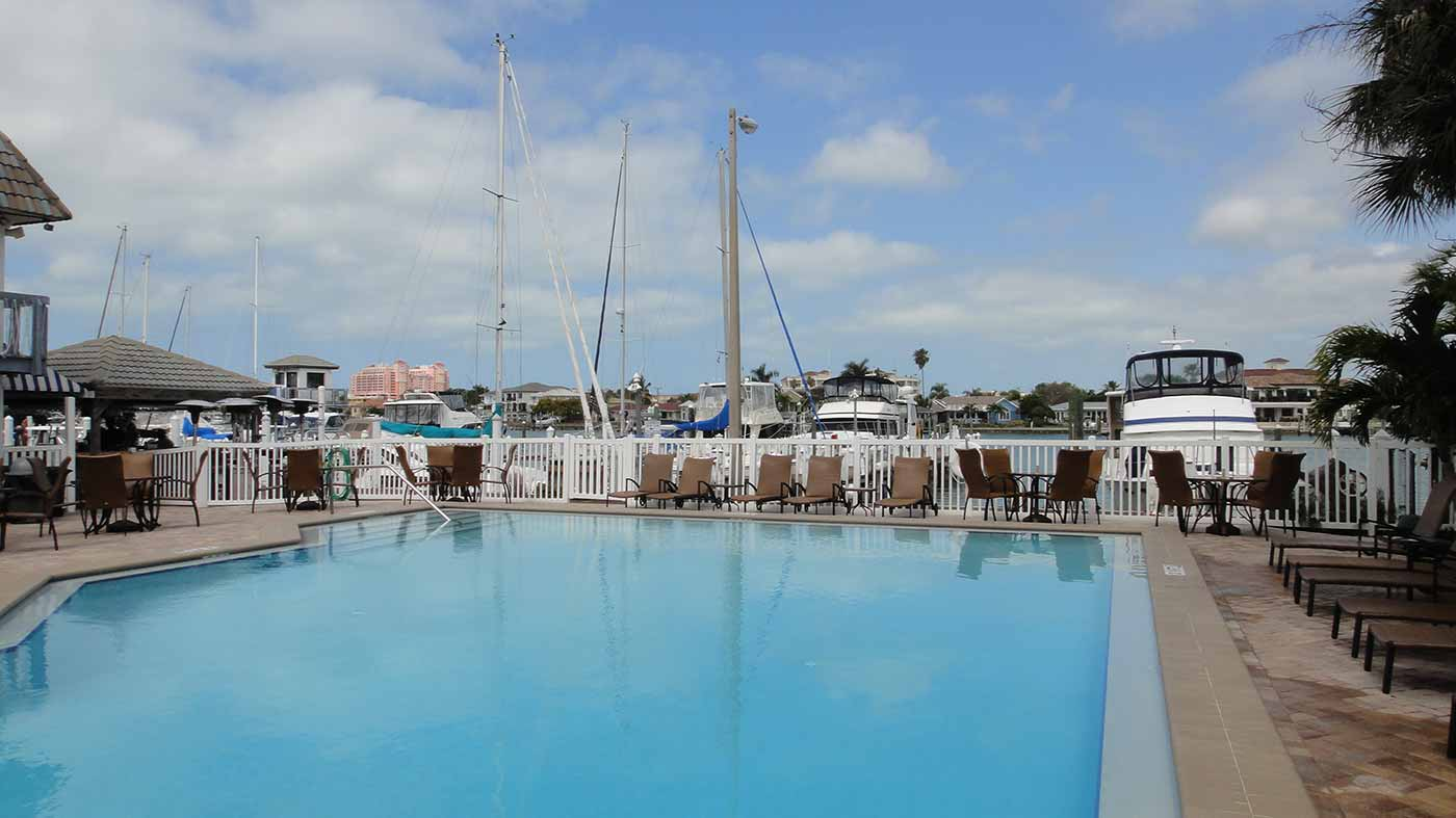 Clearwater Yacht Club Pool