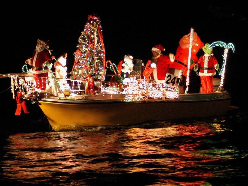 Christmas Boat Parade.Annual Island Estates Boat Parade Clearwater Yacht Club